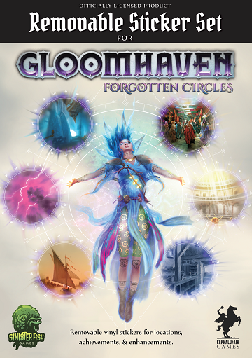 Gloomhaven Removable Sticker Set (For Forgotten Circles)