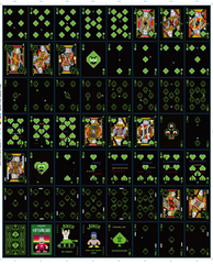 8-Bit Playing Cards Traditional 2600 Deck