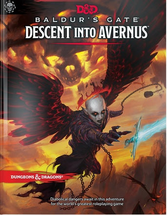 Dungeons & Dragons: Guildmasters - Descent Into Avernus (Standard Edition) (Book)