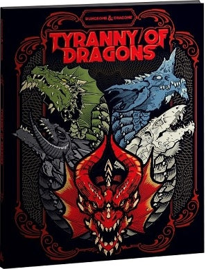 Dungeons & Dragons: Tyranny of Dragons (Hobby Cover) (Book)