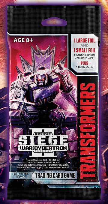 Transformers TCG: War for Cybertron Siege II - Booster Pack