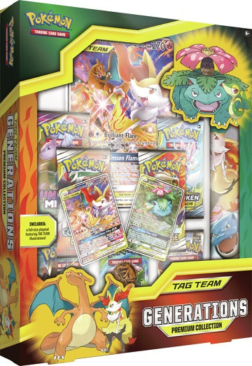 Pokemon - Tag Team Generations Premium Collection