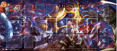 Legendary: Thanos vs Avengers Playmat