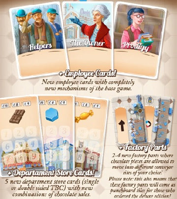 Chocolate Factory (Kickstarter Mini Expansion)