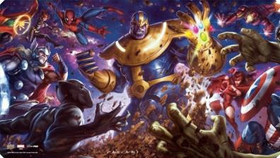 Legendary: Thanos Playmat