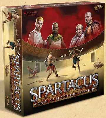 Spartacus: A Game of Blood & Treachery (New Edition) *PRE-ORDER*
