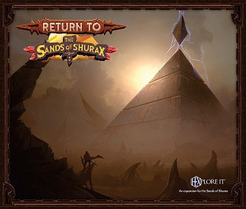 HEXplore It: The Sands of Shurax – Return to the Sands of Shurax