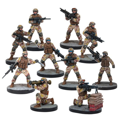 Mars Attacks: US Soldiers (10 Figures)