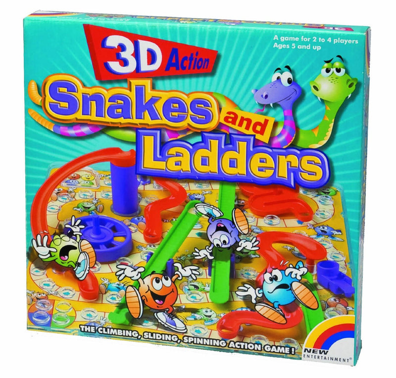 3D Action Snakes and Ladders