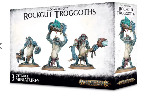Games Workshop - Rockgut Troggoths