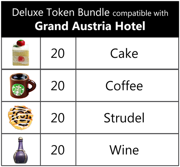 Deluxe Token Bundle compatible with Grand Austria Hotel