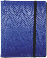 4-Pocket Dragonhide Sideloading Binder: Blue