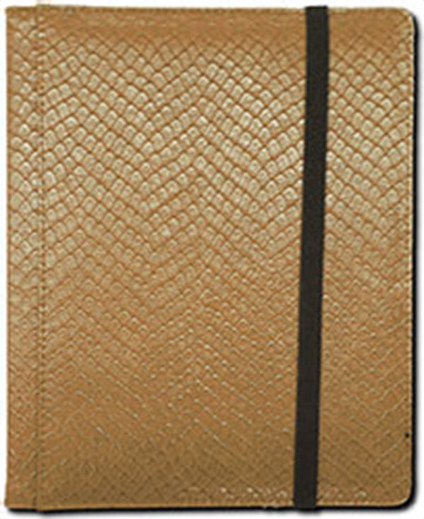 4-Pocket Dragonhide Sideloading Binder: Gold