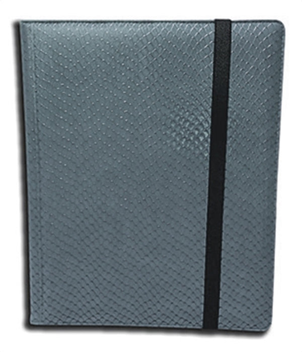 4-Pocket Dragonhide Sideloading Binder: Grey