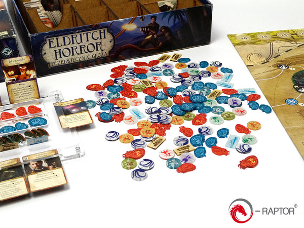 E-Raptor - Eldritch Horror Complete Tokens Set (184 pcs)