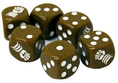 Tanks: Armoured Fist Dice Set (6)