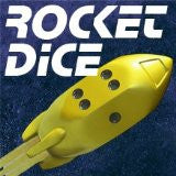 Rocket Dice d6 Pips - Yellow