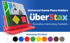 UberStax Universal Game Piece Holders (Yellow)