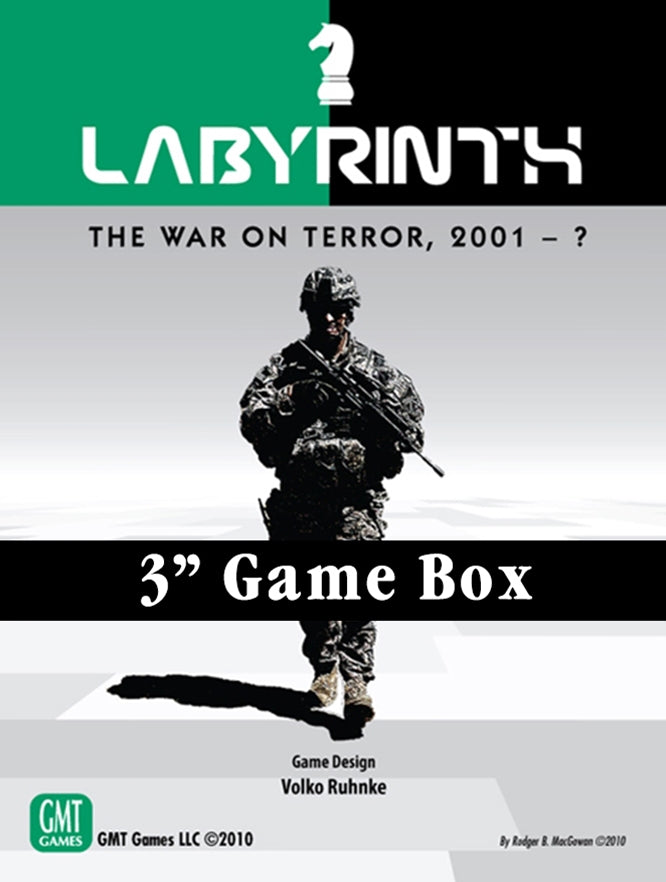 "Labyrinth 3"" Game Box"