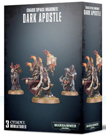 Games Workshop - Chaos Space Marines: Dark Apostle