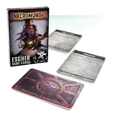 Games Workshop - Necromunda: Underhive - Escher Gang Cards