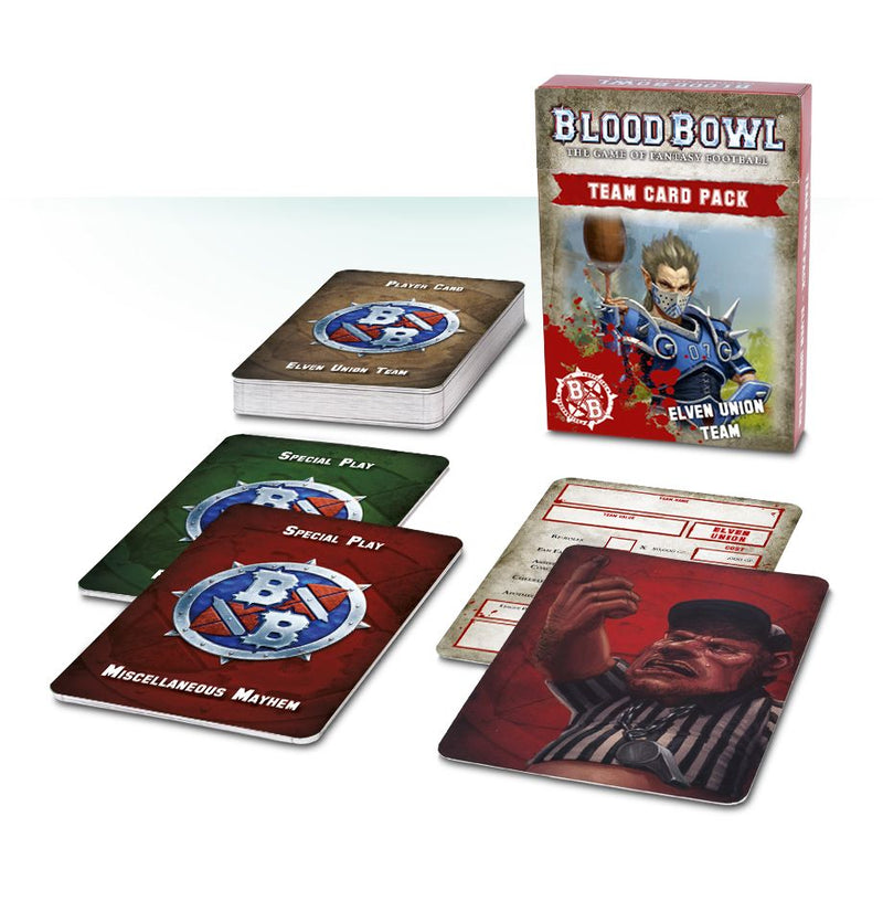 Games Workshop - Blood Bowl Team Card Pack: Elven Union