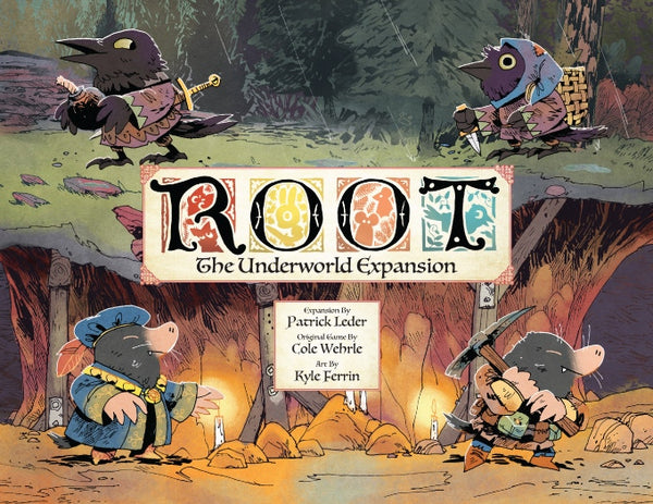 Root: The Underworld Expansion (Kickstarter Edition)