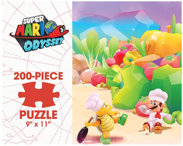 Puzzle - USAopoly - Mario Odyssey - Luncheon Kingdom (200 Pieces)