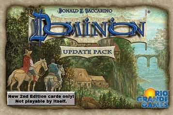 Dominion (Second Edition) - Update Pack