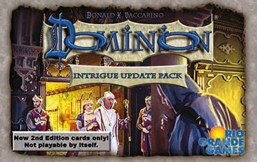 Dominion: Intrigue (Second Edition) - Update Pack