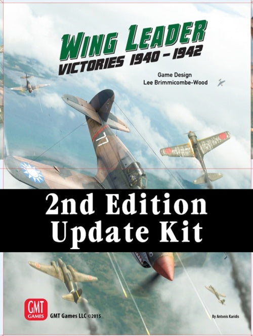 Wing Leader: Victories 1940-1942 - Second Edition Update Kit