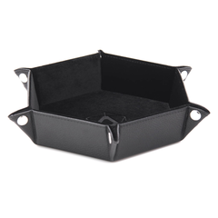 Die Hard Folding Hex Tray - Black Velvet