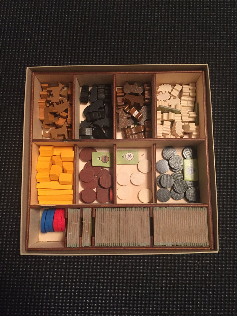 Eightbit Wood - Agricola All Creatures Big and Small Box Organizer