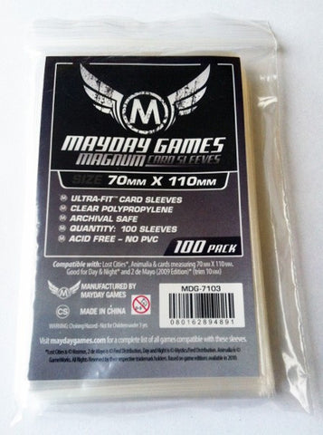 "Mayday - Magnum Ultra-Fit ""Lost Cities"" Card Sleeves (100 Pack Standard Protection)"