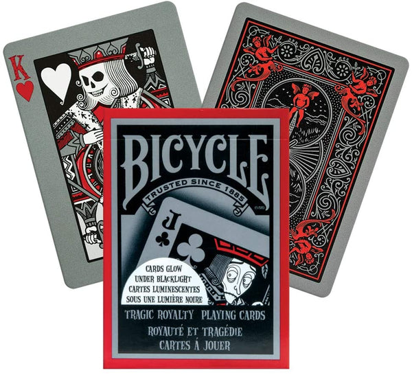 Bicycle Playing Cards - Tragic Royalty