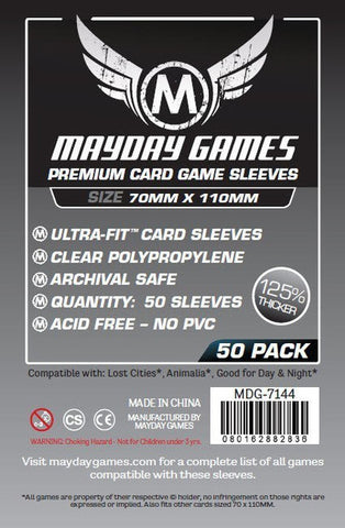 "Mayday - Magnum Ultra-Fit ""Lost Cities"" Card Sleeves (50 Pack Premium Protection)"