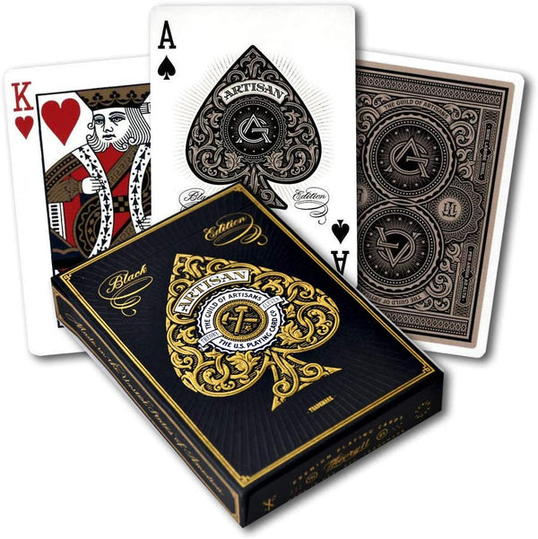 Bicycle Playing Cards - Theory-11 Artisans (Black)