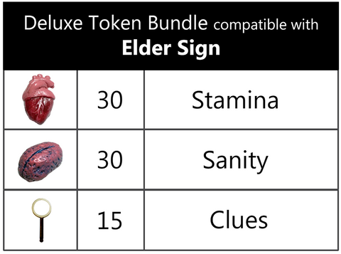 Deluxe Token Bundle compatible with Elder Sign