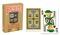 8-Bit Playing Cards Limited Gold Mini Deck