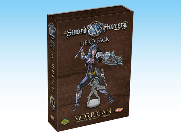 Sword & Sorcery: Hero Pack - Morrigan the Demon Huntress/Witch Huntress