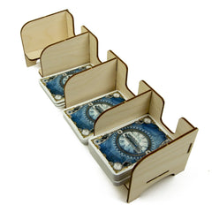 The Broken Token - Tabletop Card Holder - Euro 4 Tray
