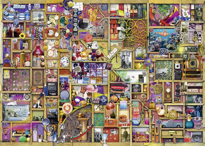 Puzzle - Ravensburger - Collector's Cupboard (1000 Pieces)
