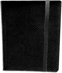 9-Pocket Dragonhide Sideloading Binder: Black