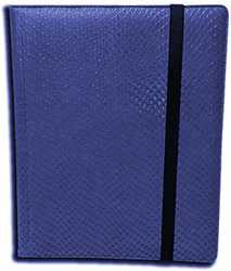 9-Pocket Dragonhide Sideloading Binder: Blue
