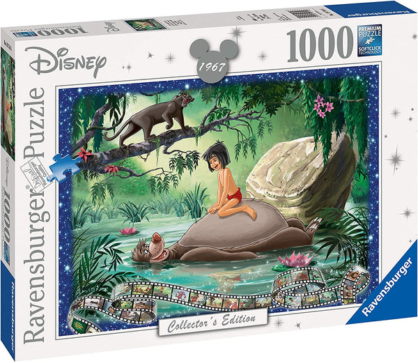 Puzzle - Ravensburger  - Disney Collector's Edition - Jungle Book (1000 Pieces)