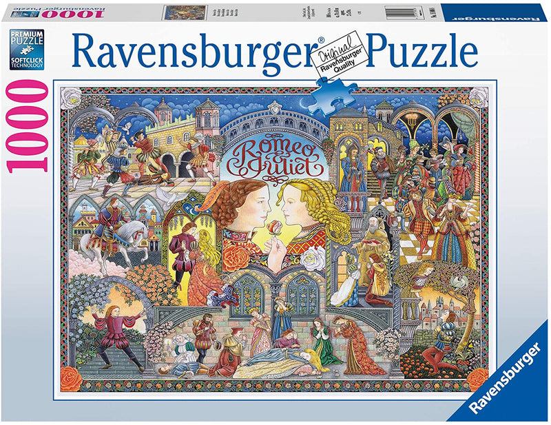Puzzle - Ravensburger - Romeo and Juliet (1000 Pieces)