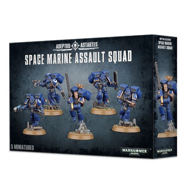 Games Workshop - Space Marine Assault Squad