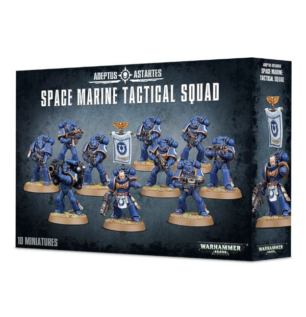 Games Workshop - Space Marine Tactical Squad