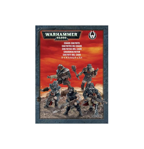 Games Workshop - Easy to Build Chaos Cultists