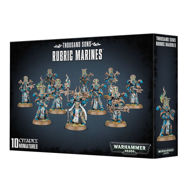 Games Workshop - Thousand Sons: Rubric Marines